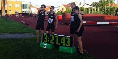 Najuspješniji na juniorskom PH s novih 8 zlata, mlađejuniorski rekord štafete 4x400m